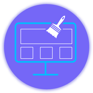 build a great website icons