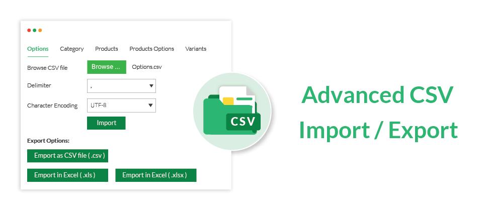 Advanced CSV Import / Export