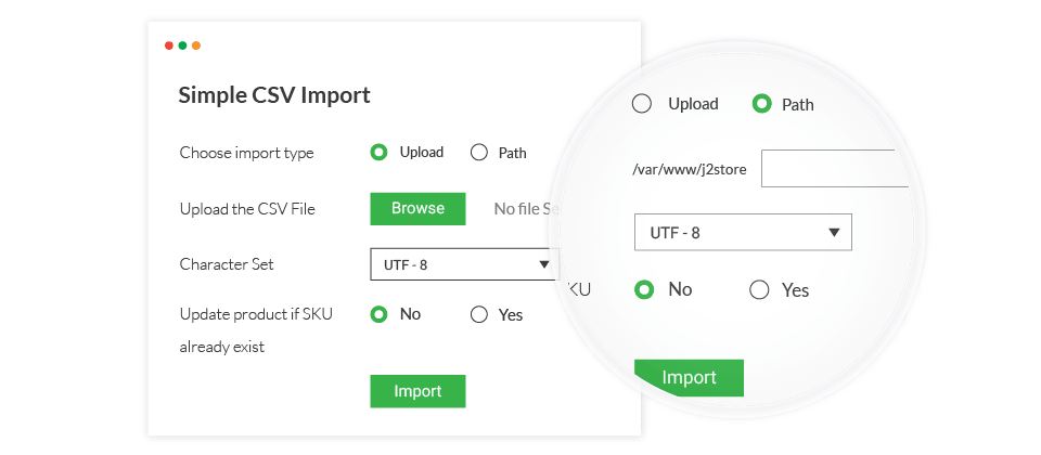 Simple CSV Import/Export