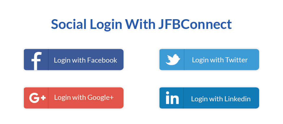 Social Login with JFBConnect