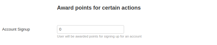 sign up action points