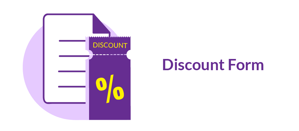 Discount form