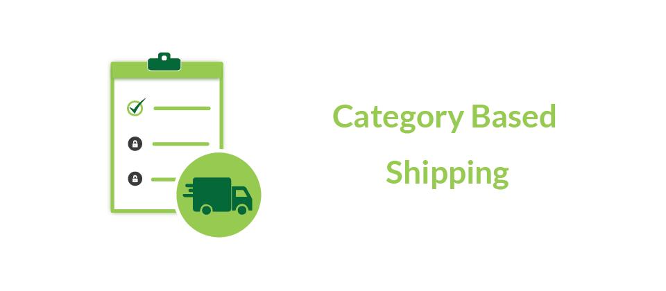 Category based Shipping