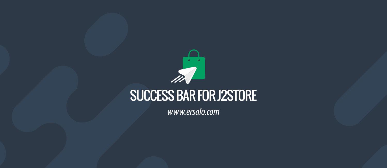Success Bar plugin for J2Store