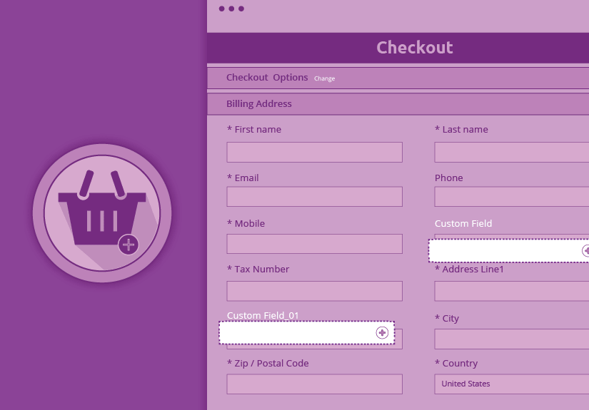 custom fields at checkout