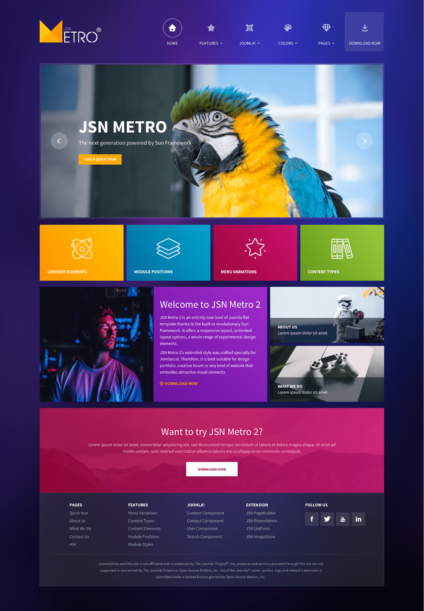 JSN Metro 2