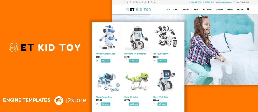 Et kidtoy free responsive toy store joomla template maxwellsz