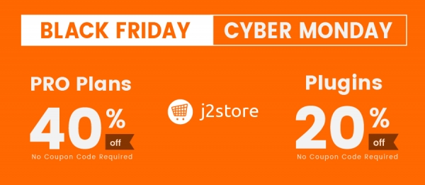 A Now-Or-Never Black Friday Offer At J2Store!