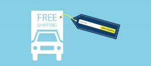 Allow free shipping using coupon