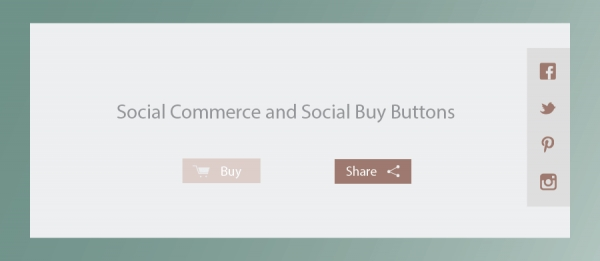 Social Commerce and Social Buy Buttons
