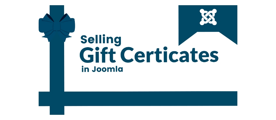 How To Sell A Gift Certificate / Voucher In Joomla?