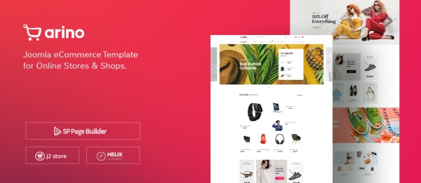 Create a complete eCommerce store with J2Store and Arino