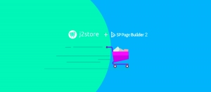 Create an online shop with SP Page Builder and J2Store to maximize sales
