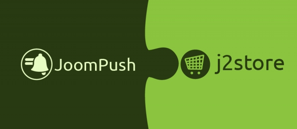 JoomPush Now Integrated With J2Store
