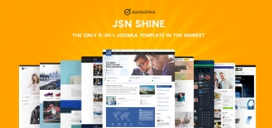Shine - The new template from Joomlashine with J2Store integration